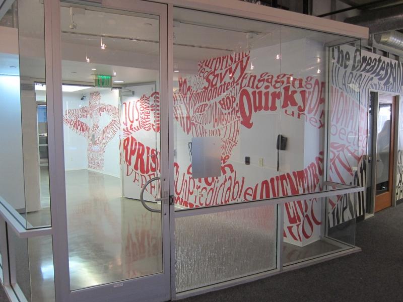 Custom Elevator Lobby Wall Wraps Santa Monica Ca